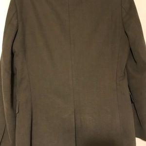 Men's gray banana republic peak blazer-Jacket 38R